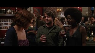 Ginnifer Goodwin, Justin Long, Nana Kagga as Nana Hill and Derek Waters in He's Just Not That Into Y