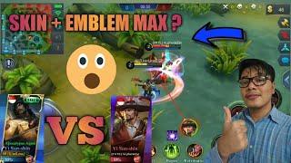 SKIN + EMBLEM MAX PENGARUH BESAR ? - MOBILE LEGEND INDONESIA