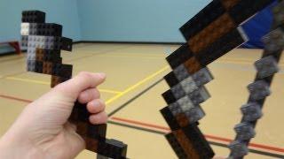 LEGO Bow and Arrow - Minecraft