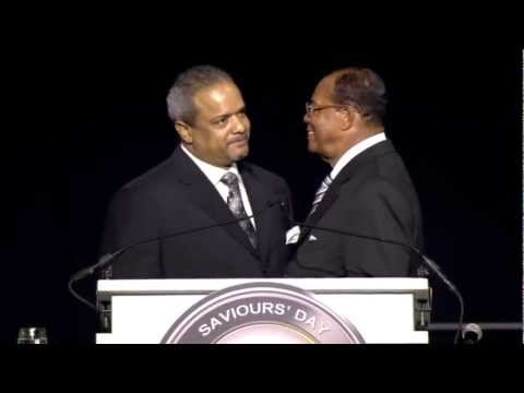 Farrakhan Speaks on Pres. Barack Obama Judas & the setup of Jesus Greed and Zionism