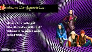 Descendants Cast - Rotten to the Core (Lyrics Video)