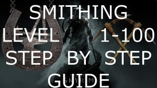 skyrim how to get 100 smithing after patch 1.5 (Better Than Gold Jewelry)