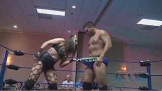 Allysin Kay Sneaks A Peak - Absolute Intense Wrestling
