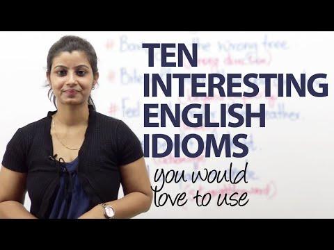 watch 10 interesting English idioms – Free Spoken English lessons