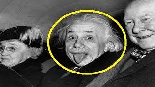 هل تعلم السر الذي دفع ألبرت آينشتاين لإخراج لسانه في أشهر صورة له ؟