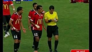 طرد أحمد عيد عبد الملك فى مباراة طلائع الجيش و وادي دجلة
