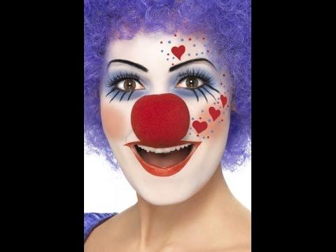 MAQUILLAJE DE PAYASOஐ Ideas disfraz Carnaval