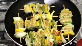 CHICKEN SHASHLIK/চিকেন সাস্লিক- Bangladeshi recipe