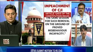 BIG QUESTION: Is Opposition politicising judiciary with its impeachment motion against CJI?