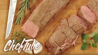 How to prepare a saddle of Lamb
