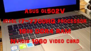 Asus GL502VM Gaming Laptop Has New Kaby Lake CPU, But the Sound Sucks