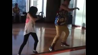 AndRen (Andrea & Darren) Rehearsals