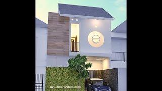 Desain rumah mungil di lahan 6x8m2