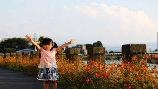 川沿いをお散歩Rino&Yuuma