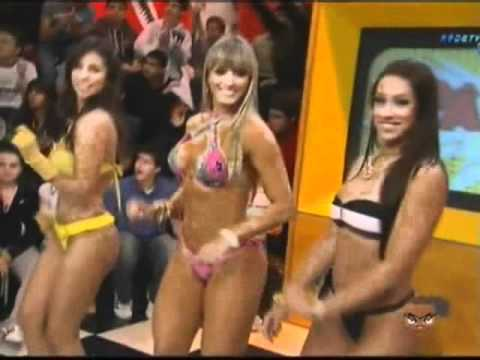 Panamericano e as Panicats do Pânico na Tv Piu Piu Dani Bolina Jujú Nicole Balls by midiamani