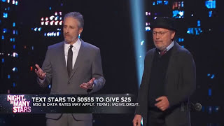Jon Stewart Opening Monologue - Night Of Too Many Stars