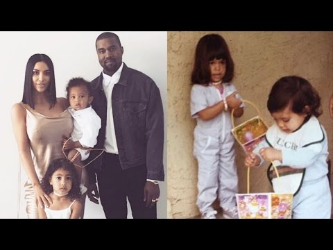 Kanye Dresses Up As Easter Bunny & Kim Kardashian Shares Family Pics