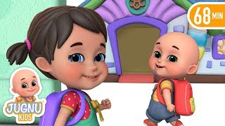 School Chale Hum - I Love My School  - Hindi Rhymes for Children by Jugnu Kids