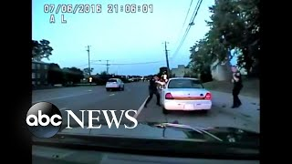 Video released from dashboard camera in Philando Castile shooting