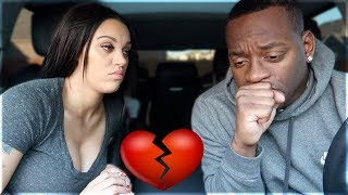 BREAK UP PRANK ON HUSBAND GONE WRONG 💔
