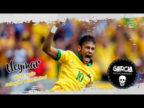 Neymar Gols pela seleção Brasileira Música País do Futebol MC Guime