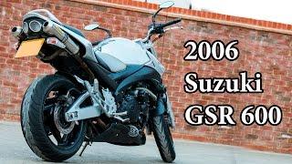 2007 Suzuki GSR 600 - Motorcycle Review