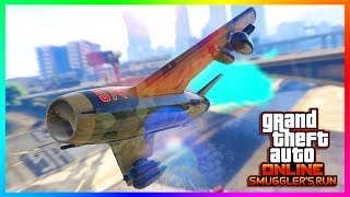 GTA ONLINE SMUGGLER'S RUN DLC NEW DETAILS - NEW VEHICLES REVEALED, AIRCRAFT FEATURES & MORE! (GTA 5)