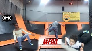 So Many Trampoline FAILS