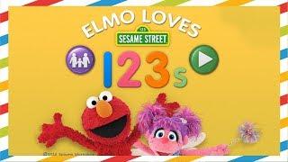 ELMO LEARNS NUMBERS 123 - Sesame street Elmo game