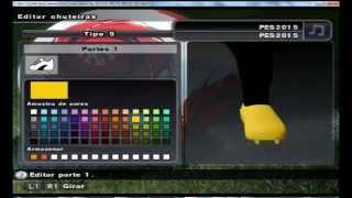 Como Hacer el Logo NIKE + 9 Tacos para PES 2015 PS2