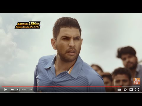 UC Cricket - Instant Live Updates TVC with Yuvraj Singh