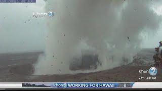 Kilauea explosive eruption