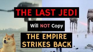 The Last Jedi Will NOT Copy The Empire Strikes Back - Rian Johnson | Star Wars News