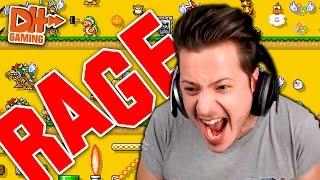 Super Mario Maker - Mega RAGE