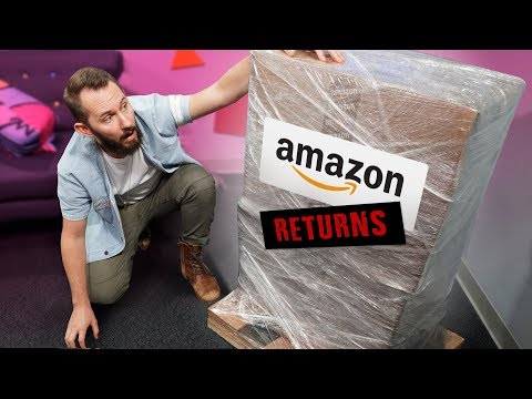 We Bought a MYSTERY Crate of Amazon Returns