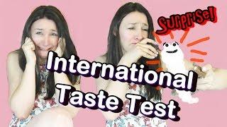 International Candy Taste Test and hidden surprise for me
