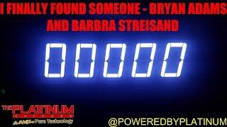 I Finally Found Someone - Bryan Adams & Barbra Streisand (PH Karaoke)