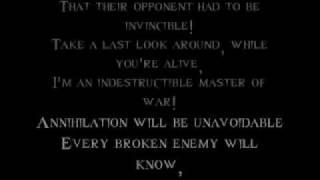 Disturbed-Indestructible [w/ lyrics]