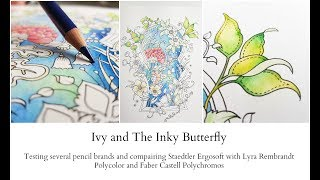 Compairing different pencil brands in Ivy and the Inky Butterfly