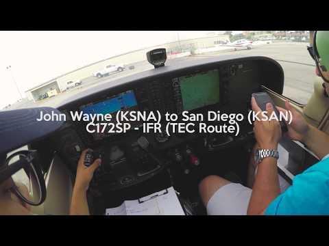 Xxx Mp4 C172 IFR 4K John Wayne KSNA To San Diego KSAN With Comms 3gp Sex