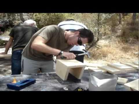Construcción de cajas nido