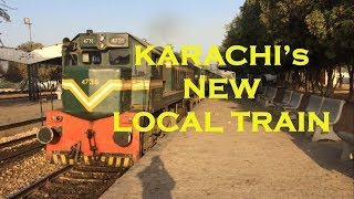 Local Train of Karachi | Dhabeji Express | UP & DN | Different Locations