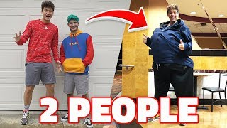 Sneaking 2 People Into The Movies With 1 TICKET ( LIFEHACK )