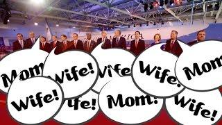 Supercut: Republican Candidates Talking About Women During Debates