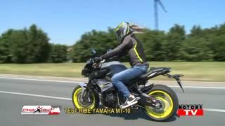 Magic Bike prova la nuova Yamaha MT-10
