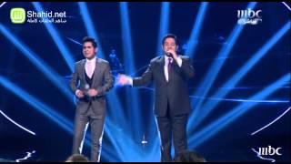 Arab Idol - حاتم العراقي و قصي حاتم - فوق إرفع إيدك