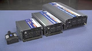 Pure Sine Wave Power Inverter - Portable Power for Your Car or Truck! Eastwood