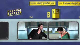 funny moment with shahrukh & deepika - chennai express 2013 HD