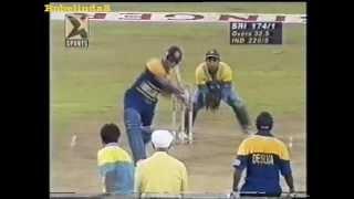 Sanath Jayasuriya 120* vs India - SINGER CUP 1996