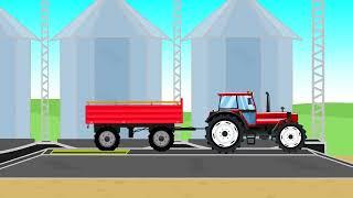 ☻ Video compilation of fairy tales about tractors | Bajki o Traktorach od Bazylland -30min ☻